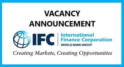 Job Vacancy at International Finance Corporation (IFC)
