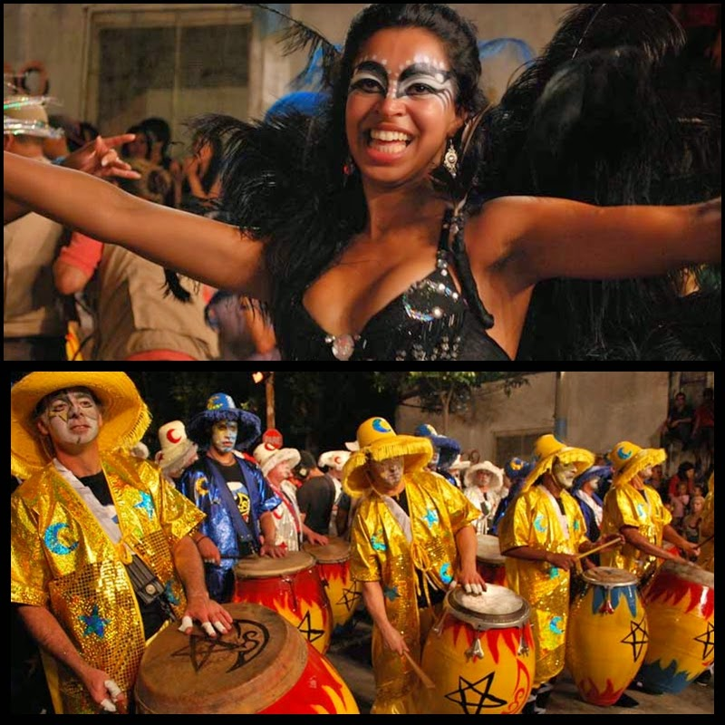 Carnaval. Desfile de Llamadas. Montevideo. La Zabala. 2010.