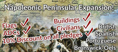 Peninsular Napoleonics Not-Kickstarter, Finishes Sunday from Pendraken Miniatures
