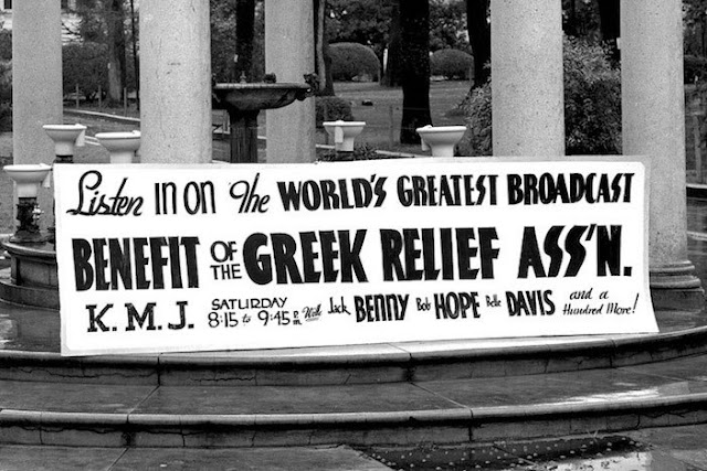 8 February 1941 worldwartwo.filminspector.com Greek Relief Association Hollywood