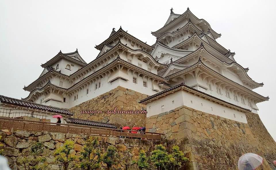 bercuti di Osaka , keindahan istana bersejarah Himeji Castle