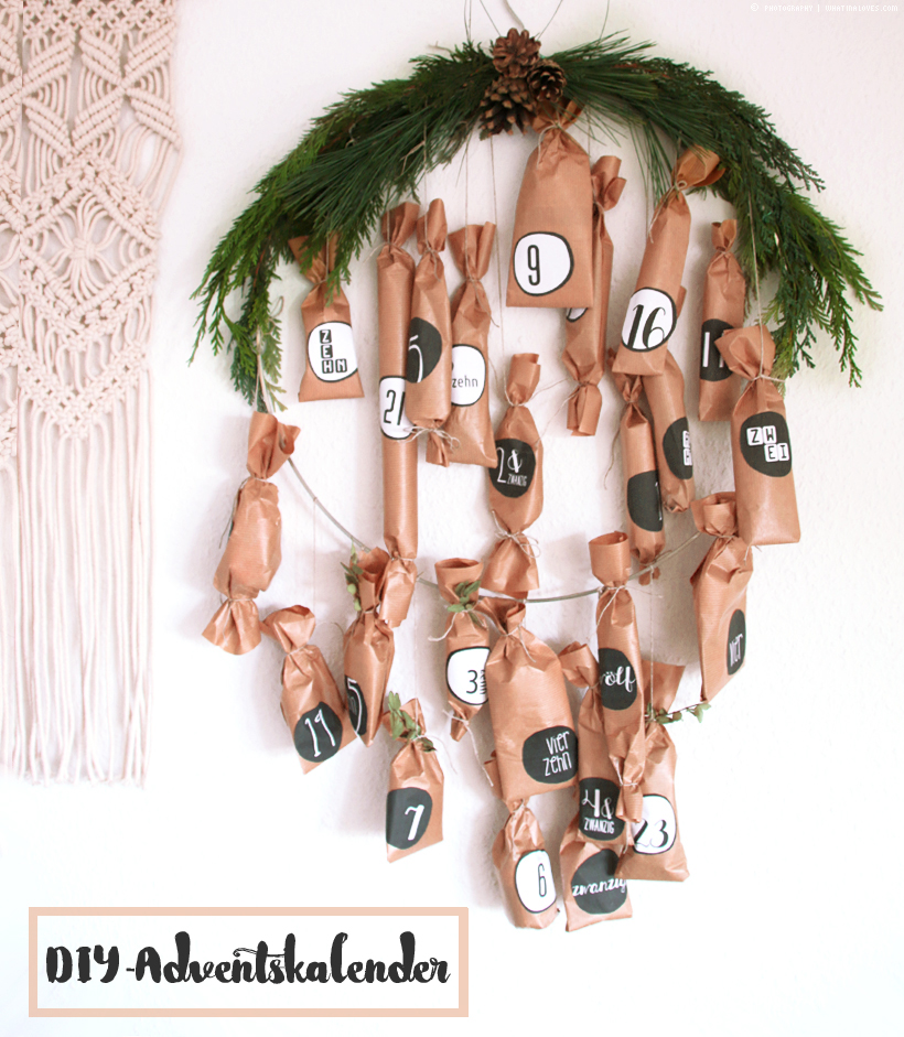 Adventskalender DIY | whatinaloves.com