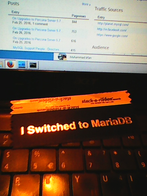 5 Years of Working for MariaDB Corporation