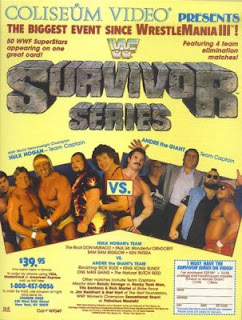 WWF SURVIVOR SERIES 1987 - POSTER