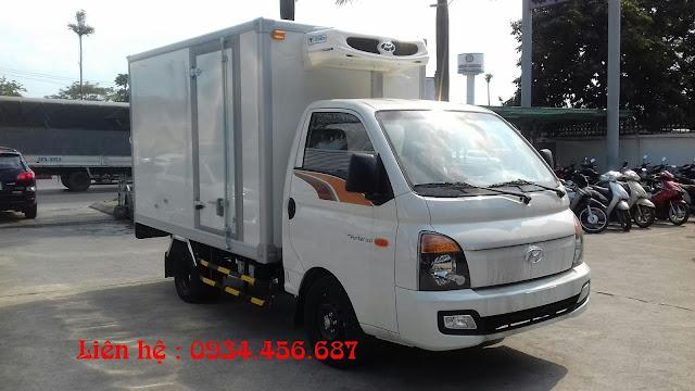 Porter 150 đông lạnh hạ tải 990kg