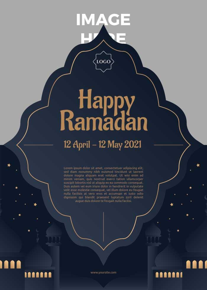 Ramadan Event PSD Templete