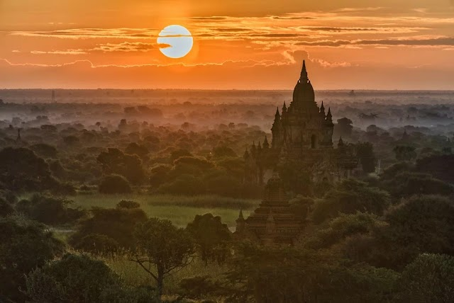 Experience in Bagan ancient city
