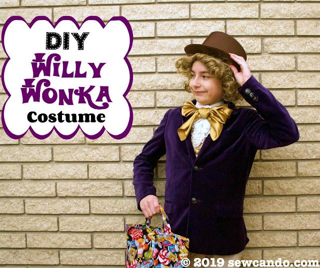 photo Willy Wonka costume