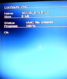 PS2 virtual memory card save game flashdisk harddisk 5