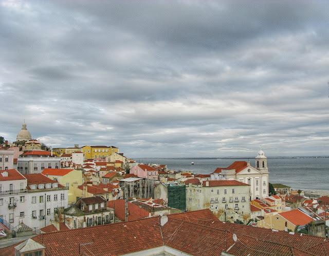 Lisboa Portugal Mirador de Santa Lucia
