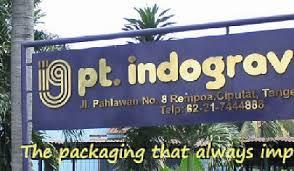 Lowongan Kerja Terbaru Tangerang Operator PT Indogravure