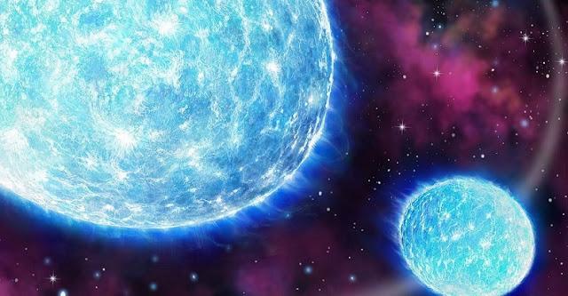 Iota Orionis binary star system. Credit: Danielle Futselaar.