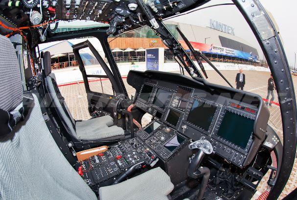 KAI KUH-1 Surion cockpit