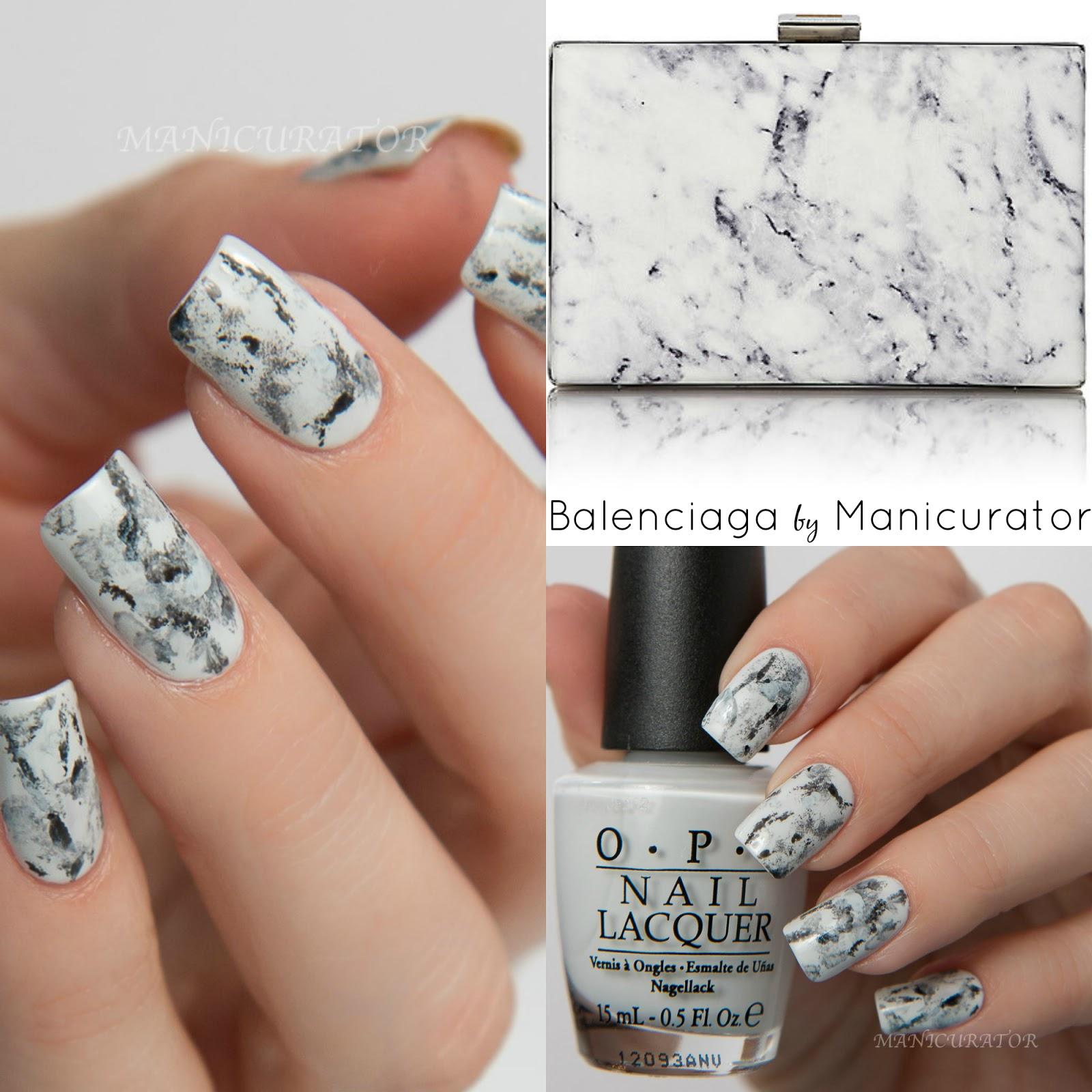 383412de6d NAFW 2016 Day 3 - Bag: Balenciaga Marble with OPI