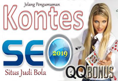 Menjelang Pengumuman Kontes SEO Situs Judi Bola QQBonus