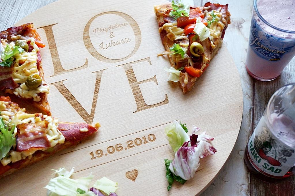 MygiftDNA deska do pizzy food jedzenie