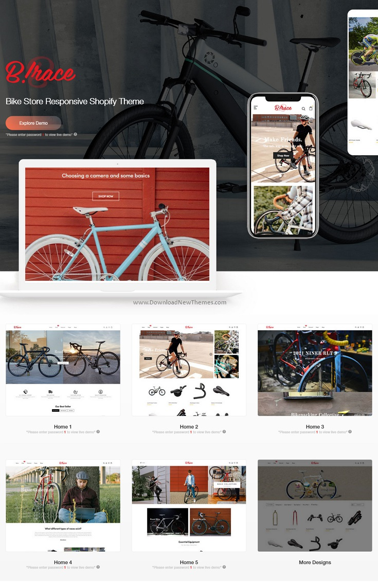 Bike Store Responsive Shopify Theme