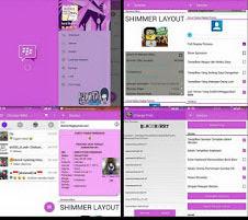 BBM mod purple hinata