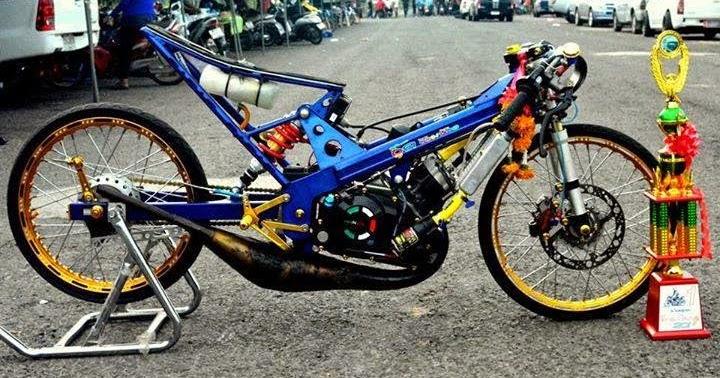 Inspiration + Kartun Motor Drag, Paling Heboh!