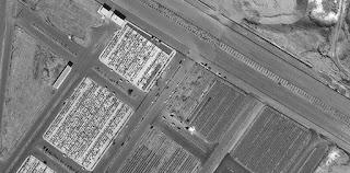Kuburan Massal Korban Virus Corona Kota Suci Syiah Qom Seluas Lapangan Bola Terlacak Oleh Satelit