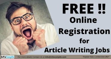 Online Article Writing Jobs - Register Now