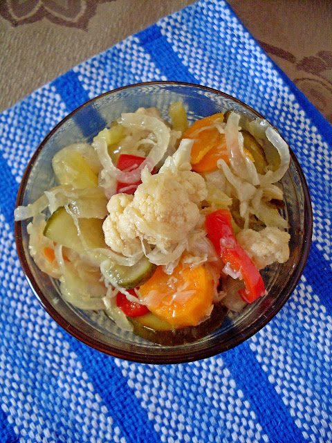 Šarena salata zimnica