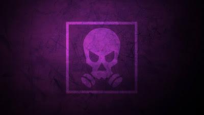 Minimal Skull Wallpaper Tom Clancys Smoke Skull