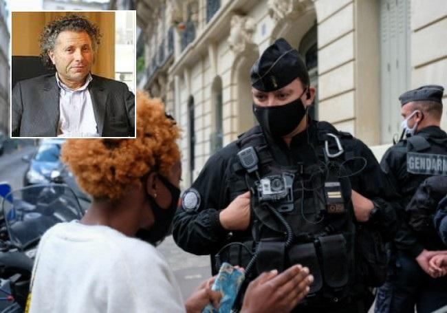 """Gilles-William Goldnadel : """"Pas d'excuses à une racialiste sans excuses...!"""""""