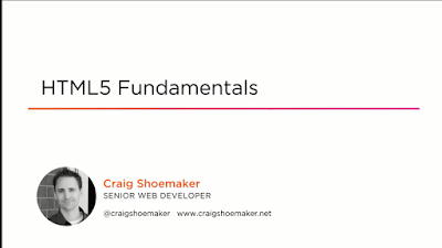 best Pluralsight course to learn HTML And CSS