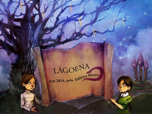 """Novidades sobre """"Lagoena"""" da escritora nacional Laísa Couto"""