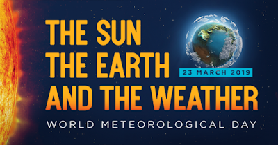 Poster peringatan Hari Meteorologi Dunia 2019