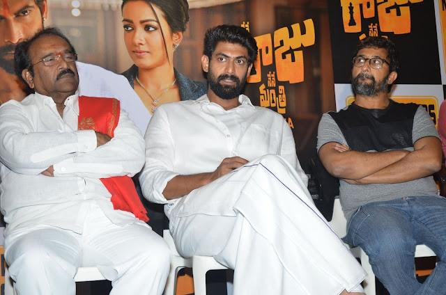 Nene Raju Nene Mantri Telugu Movie Success Meet Photos