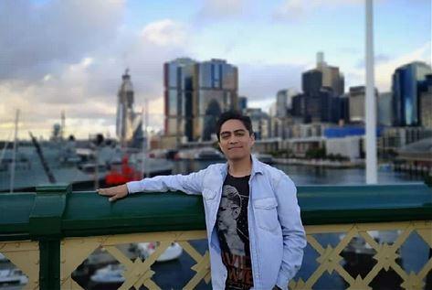 Sergio Freire debutó con un stand up en Australia