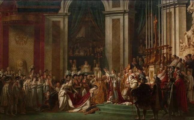 quadro coroação napoleão louvre