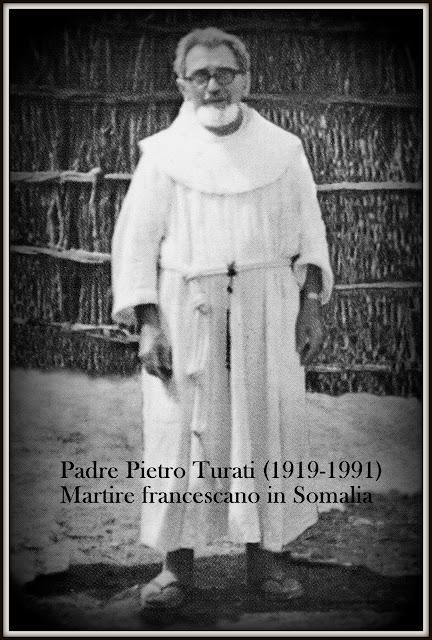 Padre Pietro Turati, martire francescano in Somalia