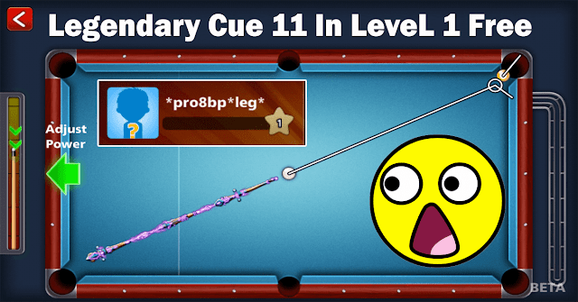 8 ball pool Legendary Cue