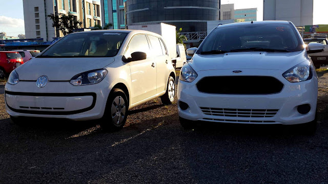 Volkswagen up! x Ford Ka