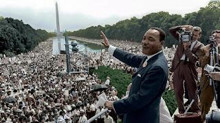 Martin Luther King, Jr speaking in Washington, DC