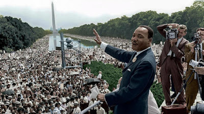 Martin Luther King, Jr speaking in Washington, DC