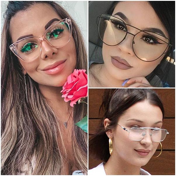 óculos de grau flat sunnie