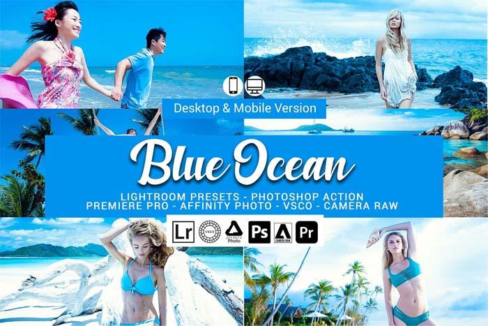 CreativeMarket – Blue Ocean Lightroom Presets