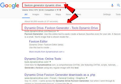 Generate Automatic Website FavIcon