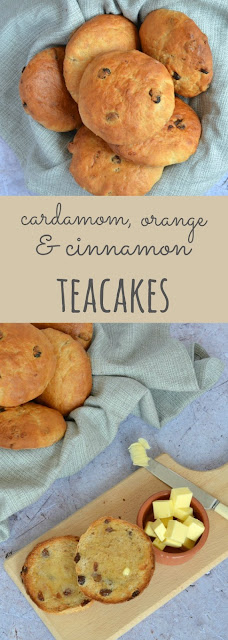 Cardamom, Orange & Cinnamon Teacakes