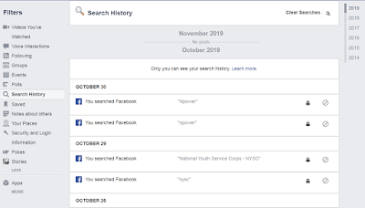 How To Delete Your Facebook Search History | Step By Step