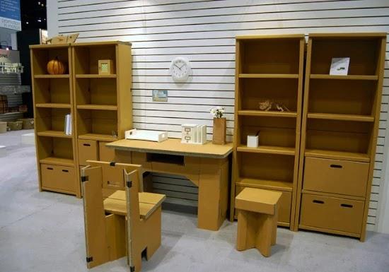 LINGKAR WARNA: Berbagai desain furniture unik dari kertas ...