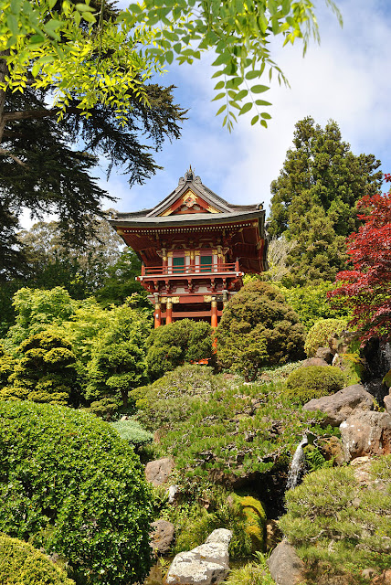 jardim e casa chinesa