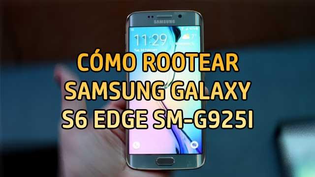 Cómo ROOTEAR Samsung Galaxy S6 Edge SM-G925I