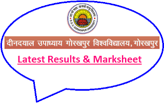 Gorakhpur University Results 2020