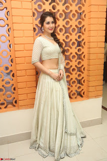 Raashi Khanan looks stunning in Crop Top Deep neck Choli Ghagra Transparent Chunni WOW ~  Exclusive Celebrities Galleries 069.JPG