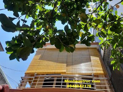 Mành tre trúc che nắng ban công tại hcm